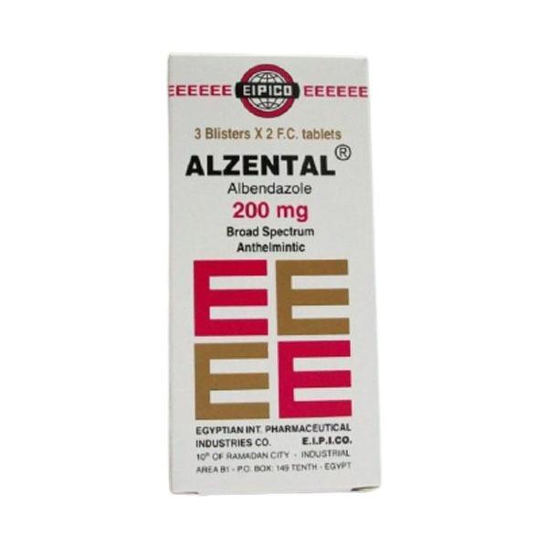ALZENTAL 200MG 3STRIP 1