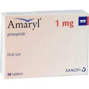 AMARYL 1 MG 30 TAB