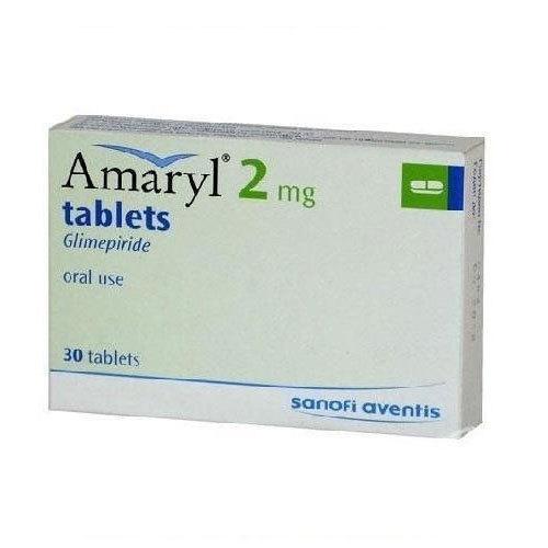 AMARYL 2 MG 30 TAB