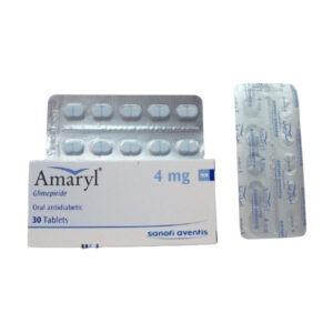 AMARYL 4MG 30TAB 1