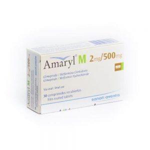 AMARYL M 2MG 500MG 30TAB