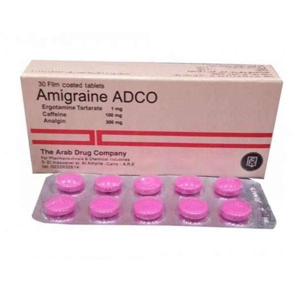 AMIGRAINE ADCO 30TAB 1