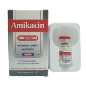 AMIKACIN 500 MG 2 ML 1 AMP 1