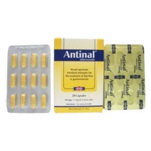 ANTINAL 24 CAP