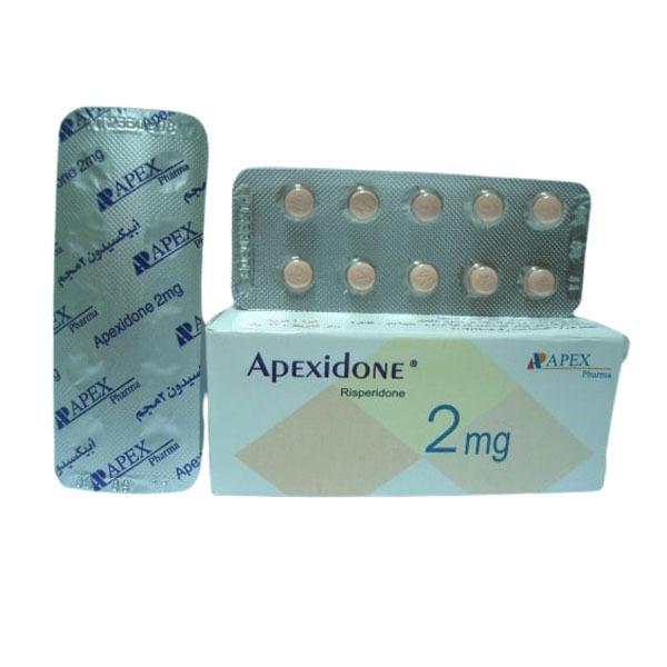APEXIDONE 2MG TAB 1