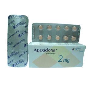 APEXIDONE 2MG TAB
