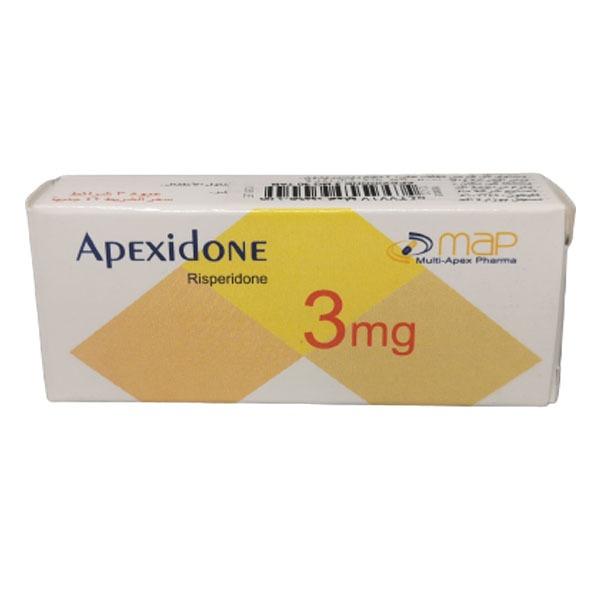 APEXIDONE 3 MG 30 TAB 1