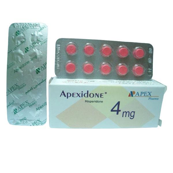 APEXIDONE 4MG 30TAB 1
