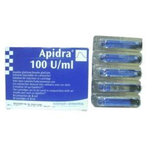 APIDRA 100U ML 5 PENFLL