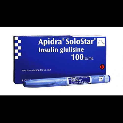 APIDRA SOLOSTAR 100 UNITS