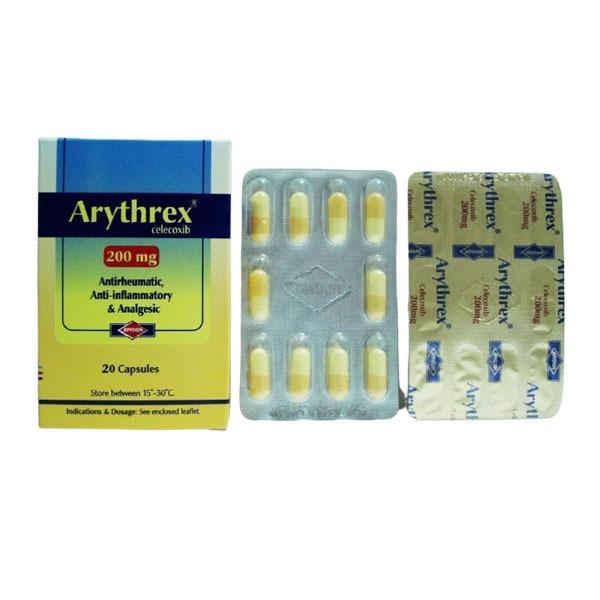 ARYTHREX 200 MG 20 CAP 1