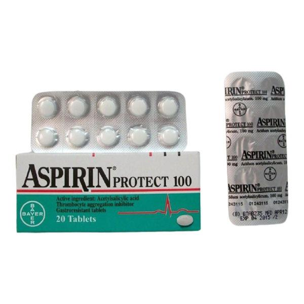 ASPIRIN PROTECT 100 MG 20 TAB 1