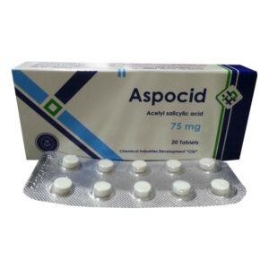ASPOCID 75 MG 20 TAB 1