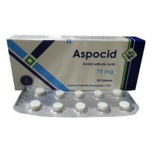 ASPOCID 75 MG 20 TAB