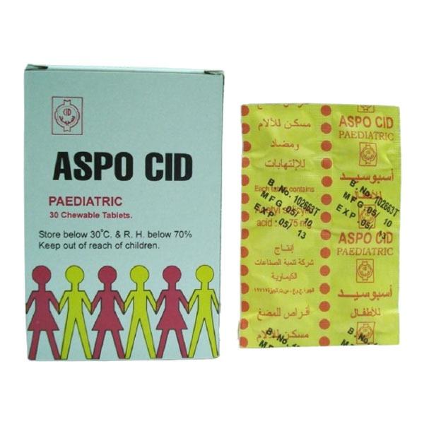 ASPOCID 75MG INF 30T 1