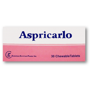 ASPRICARLO 81MG 30TAB.
