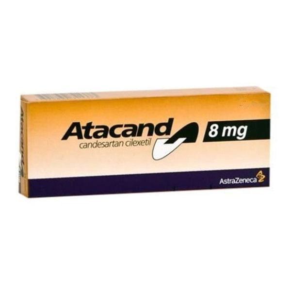 ATACAND 8 MG 16 TAB 1