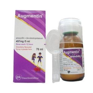 AUGMENTIN 457MG 5ML SYP 1