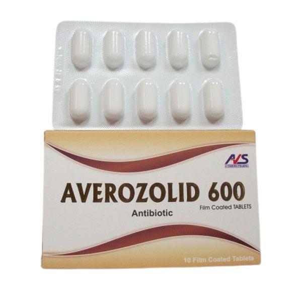 AVEROZOLID 600MG 10TAB 1