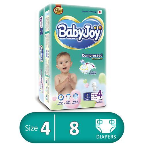 BABYJOY 4 8 DIAPERS
