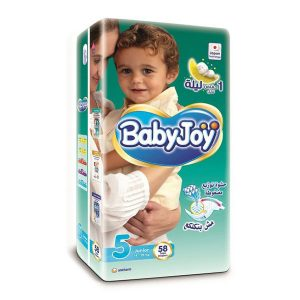 BABYJOY 5 58 DIAPERS