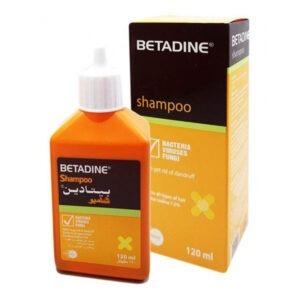 BETADINE SHAMPOO 120ML