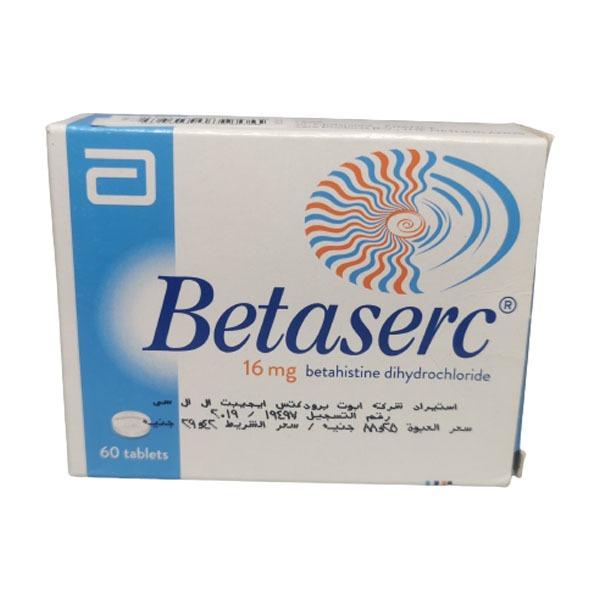 BETASERC 16MG 60TAB 1