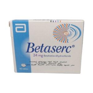 BETASERC 24MG 40TAB 1