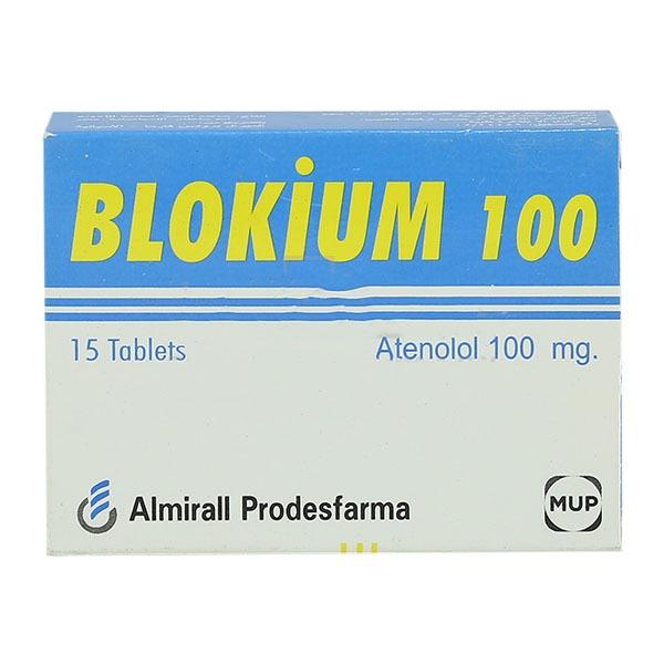 BLOKIUM 100 MG 15 TAB 1