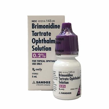 BRIMONIDINE 5 ML EYE DROPS