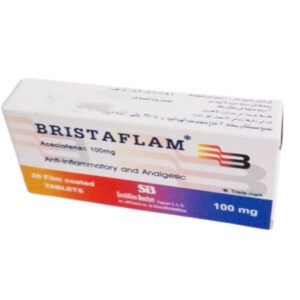 BRISTAFLAM 100MG 20T 1