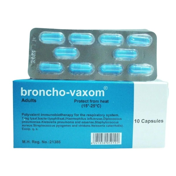 BRONCHO VAXOM AD 10CAP. 1