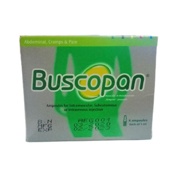 BUSCOPAN 20MG 1ML 6A. 1