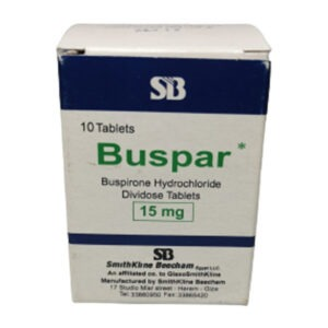 BUSPAR 15MG 10TAB. 1