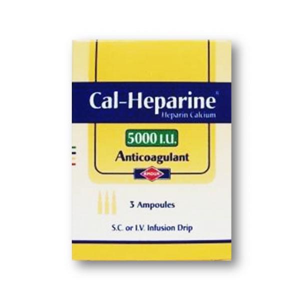 CAL HEPARINE 5000 3AMB 1
