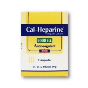CAL HEPARINE 5000 3AMB