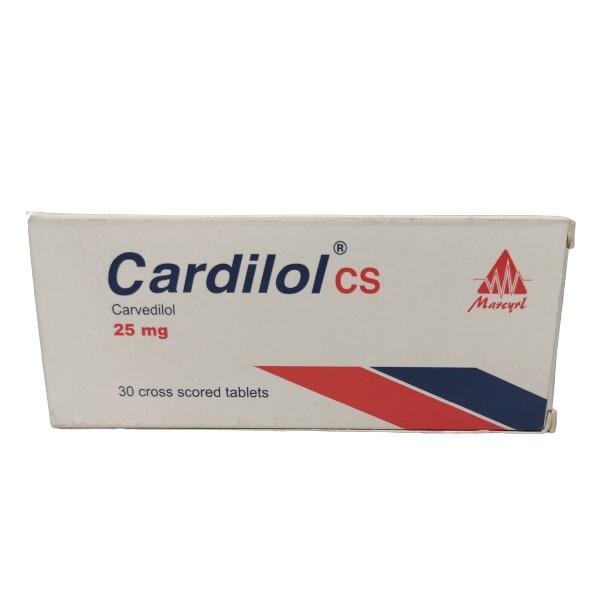 CARDILOL 25MG30TAB 1