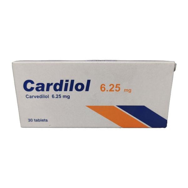 CARDILOL 6.25MG 30TAB. 1