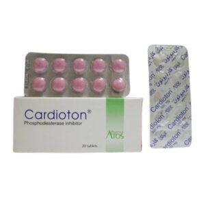 CARDIOTON 20 TAB 1