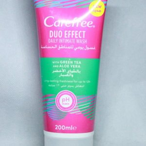 CAREFREE DAILY INTIMATE WASH 200ML.