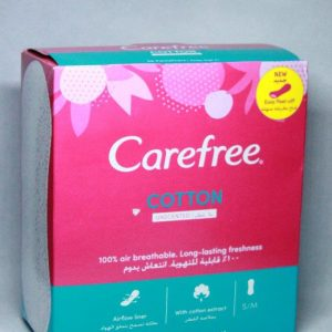 CAREFREE UNSCENTED 56PADS.