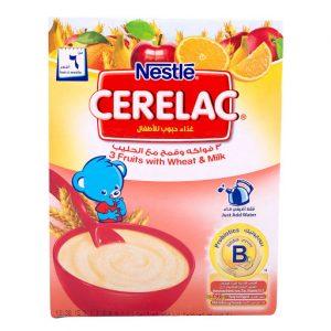 CERELAC FRUITS WHEAT 250GM