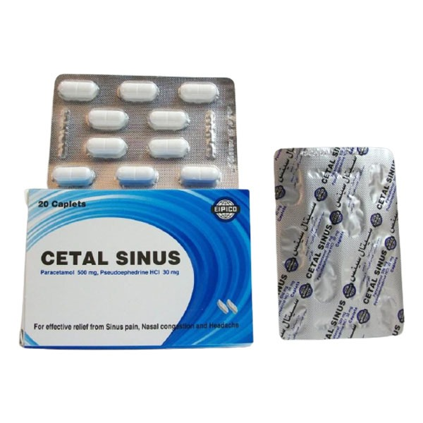 CETAL SINUS 30MG 20CAP 1