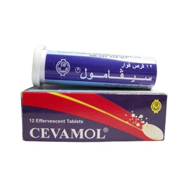 CEVAMOL 12 Effervescent Tablets