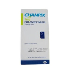 CHAMPIX 1MG 28 TAB.