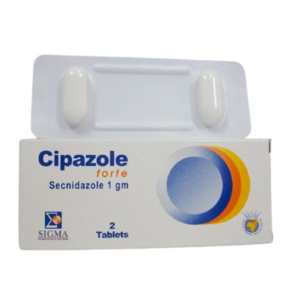 CIPAZOLE FORT 2 TAB 1