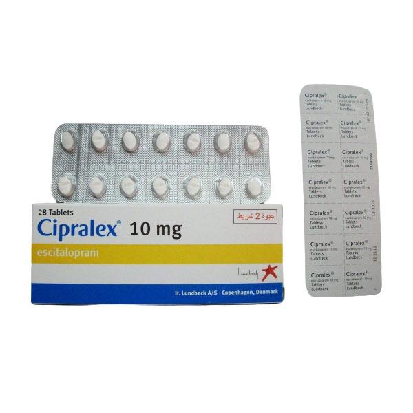 CIPRALEX 10 MG 28 TAB 1