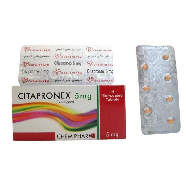 CITAPRONEX 5MG 14TAB 1