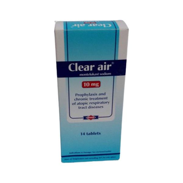 CLEAR AIR 10 MG 14 TAB 1