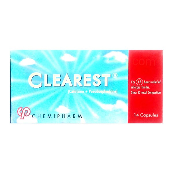 CLEAREST 14 CAP 1